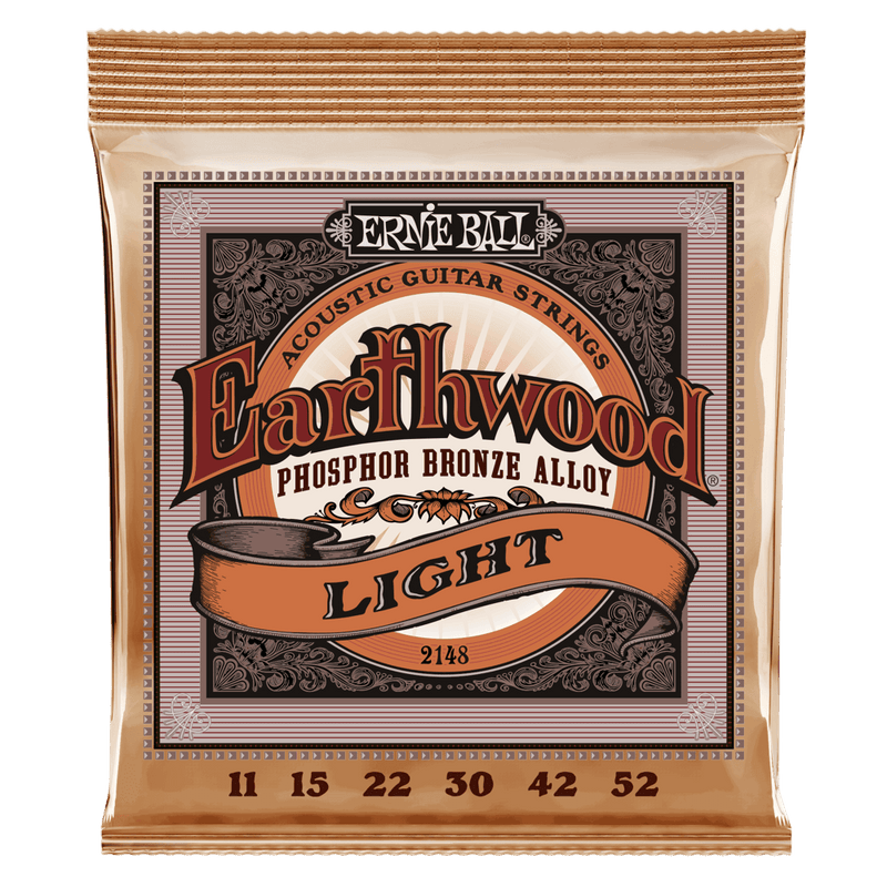 Ernie Ball Phosphor Bronze Strings Super Slinky 11-52