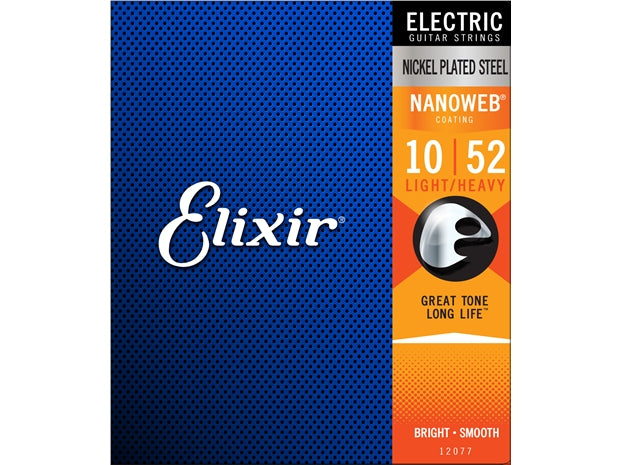Elixir 10-52 Nanoweb Electric Strings
