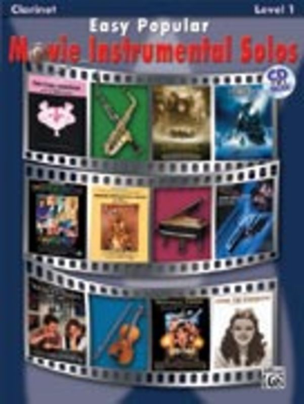 Easy Popular Movie Instrumental Solos. Clarinet