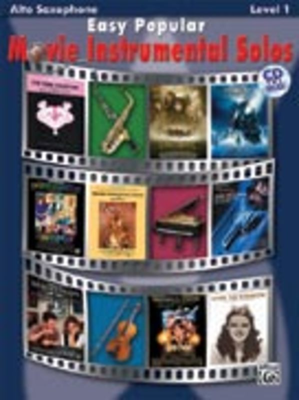 Easy Popular Movie Instrumental Solos. Alto Saxophone