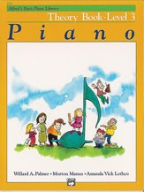 Alfred's Basic Piano Course: Theory Book 3