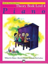 Alfred's Basic Piano Course: Theory Book 4