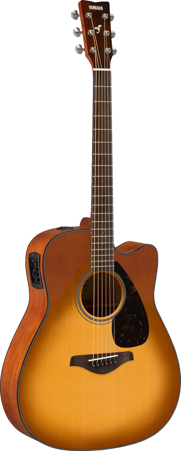 Yamaha FGX800 Acoustic Electric Guitar. Sand Burst