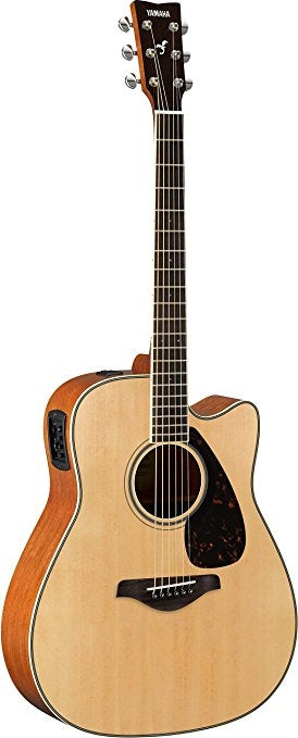 Yamaha FGX820C Acoustic Electric Guitar. Natural