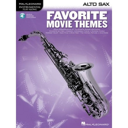 Favourite Movie Themes - Alto Sax