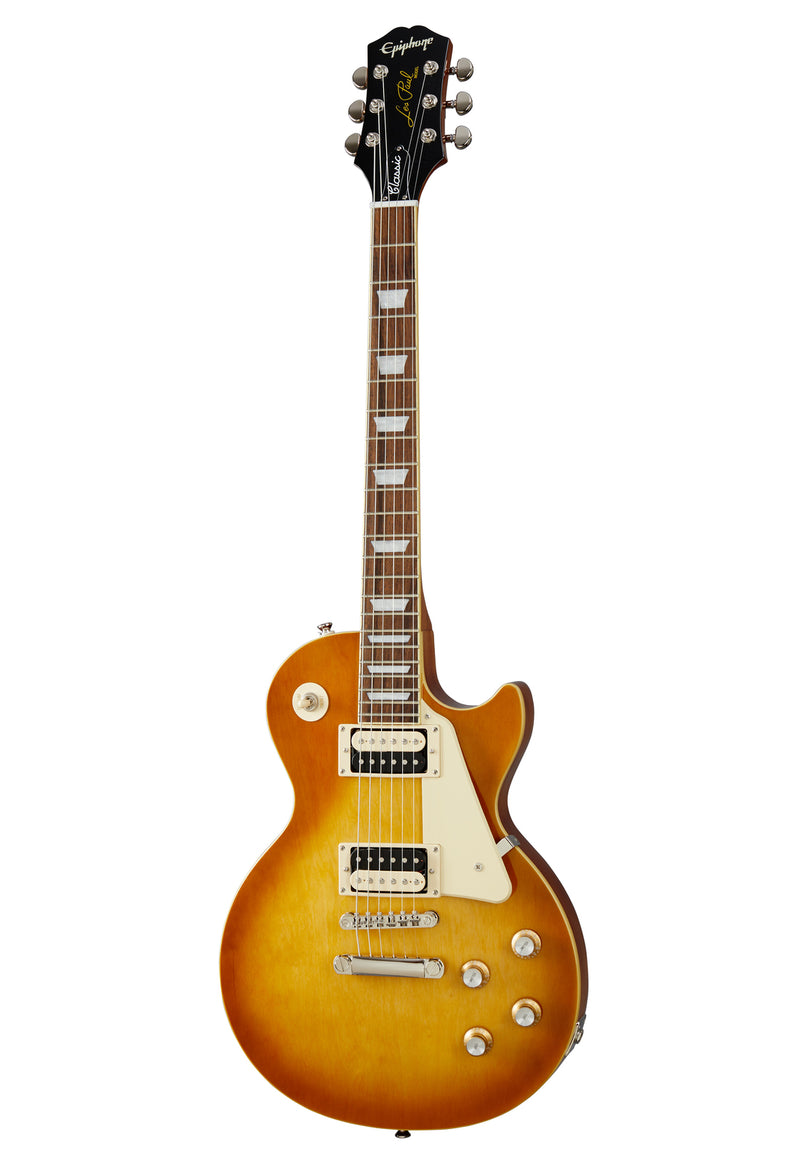 Epiphone Les Paul. Classic Honey Burst