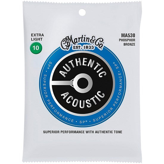 Martin Acoustic SP Guitar Strings. Extra Light