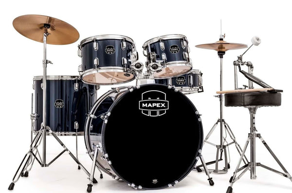 Mapex Prodigy 5 Piece Drumkit. Royal Blue