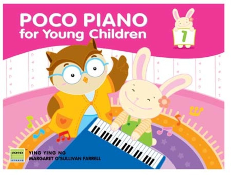 Poco Piano For Young Children Lesson Grade 1