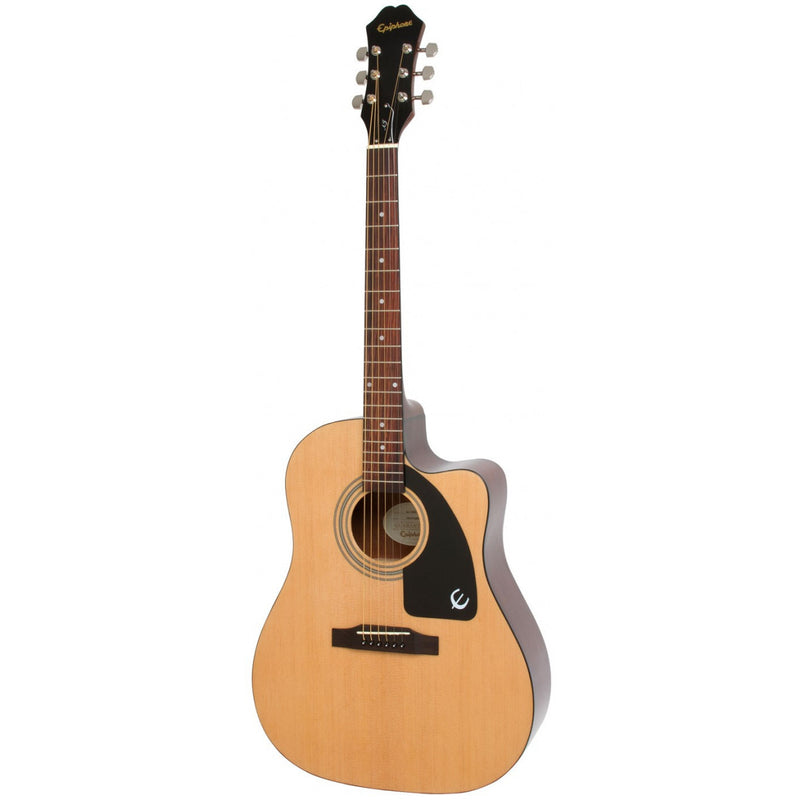 Epiphone AJ-100CE Acoustic Electric Guitar. Natural