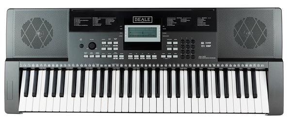 Beale AK140 61 Note Touch Response Keyboard. Inc Keyboard Stand & Headphones