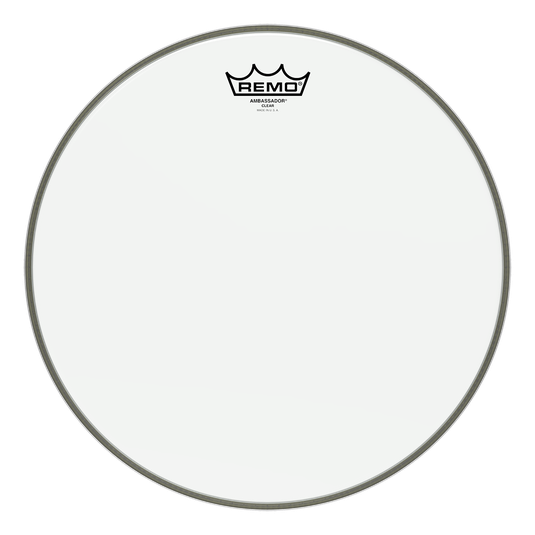 "Remo Ambassador Clear 20"" Bass Drum"