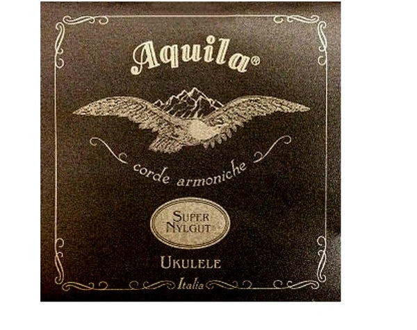 Aquila Super Nylgut Ukulele Strings. Soprano Low G
