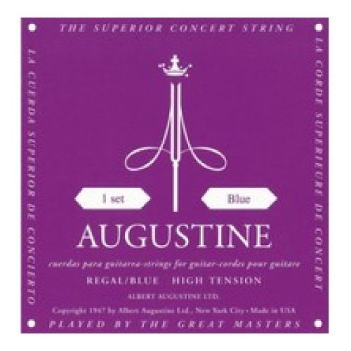 Augustine Classical Guitar Strings High Tension Regal Blue