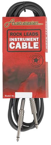 Australasian Guitar lead / Instrument Cable 6m