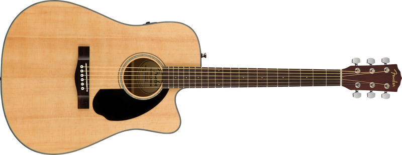 Fender CD-60SCE Acoustic Electric Guitar. Natural