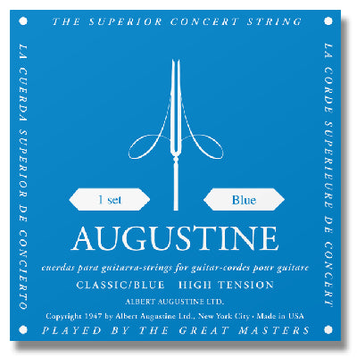 Augustine Classical Guitar Strings High Tension Blue