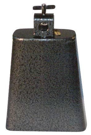 Cowbell Black Pewter Finish 5.5""