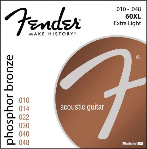 Fender Phosphor Bronze Strings Extra Light