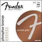Fender Phosphor Bronze Strings Light