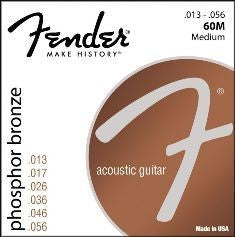 Fender Phosphor Bronze Strings Medium