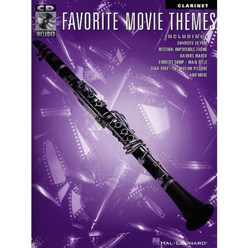 Favourite Movie Themes - Clarinet