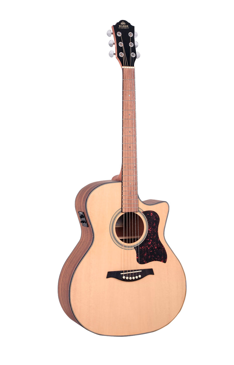 Gilman GA10CE Acoustic Electric Guitar.  Grand Auditorium
