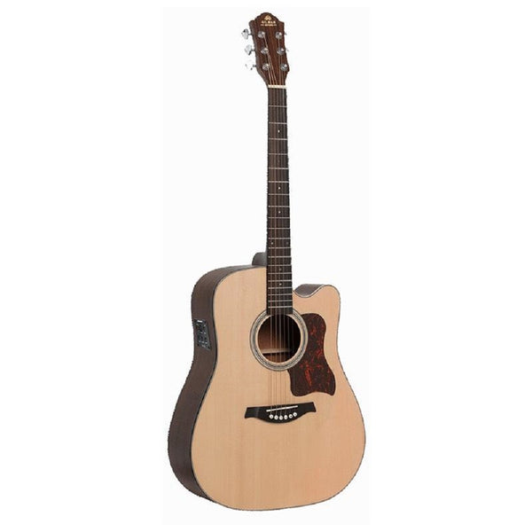 Gilman GD10CE Acoustic Electric Guitar. Dreadnought