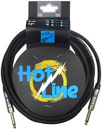 Hotline Instrument Cable 6.3mm. 3m Long