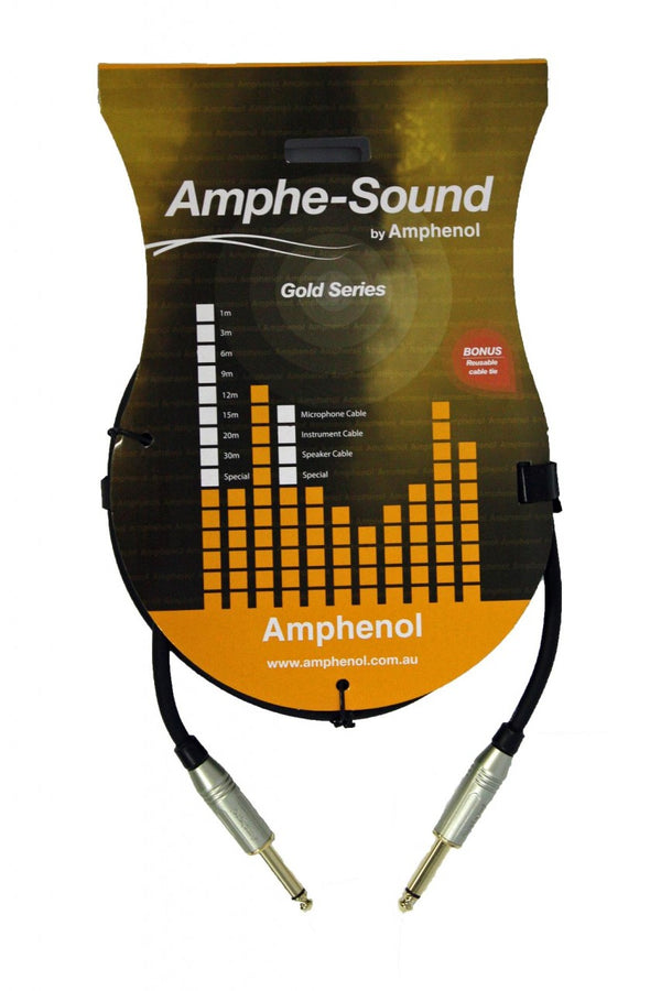 Amphe-sound Instrument Cable 6.3mm