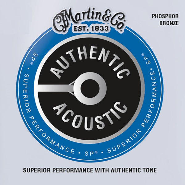 Martin Acoustic SP Guitar Strings. Medium