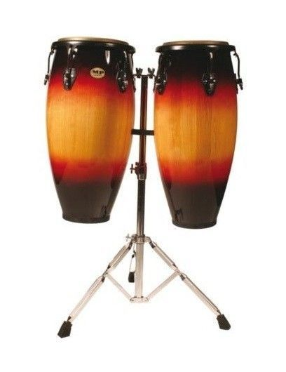 "Mano Congas 10"" and 11"" Sunburst"