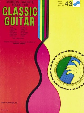World's Favorite No. 43 - Solos for Classic Guitar