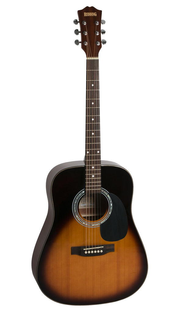 Redding Acoustic Guitar Pack. Sunburst