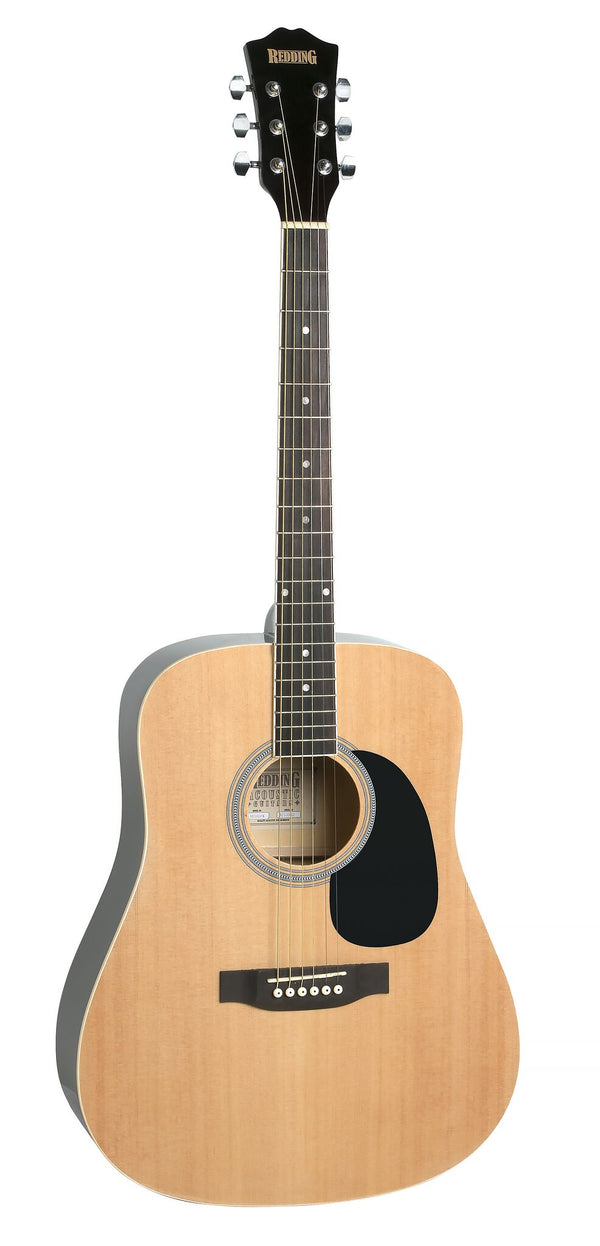 Redding Acoustic Guitar Pack. Natural
