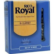 Rico Royal Bb Clarinet Reeds - Box of 10 - Size 3.0