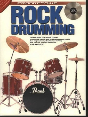 Progressive Rock Drumming Bk/Cd