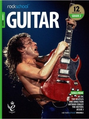 ROCKSCHOOL GUITAR GRADE 2 2018 - 2024