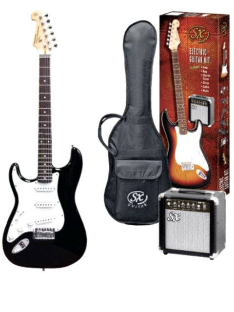 SX Electric Guitar Pack, Left-Handed
