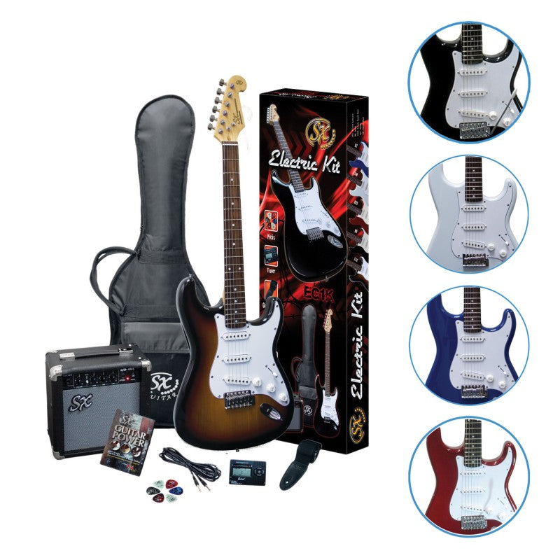 SX Electric Guitar Pack