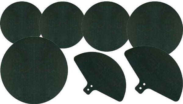 DXP Drum Mute Pad Set. Rock Size