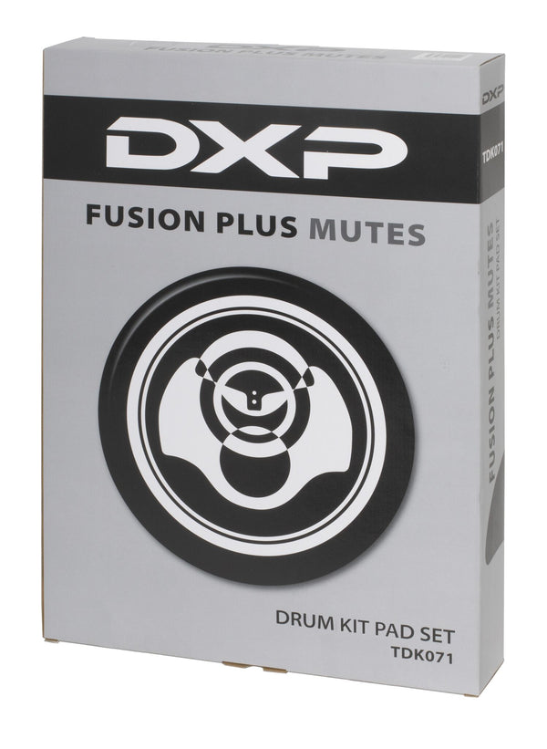 DXP Drum Mute Pad Set. Fusion Plus Size
