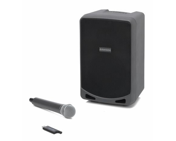 Samson Battery Powered PA System 100w With Wireless Mic