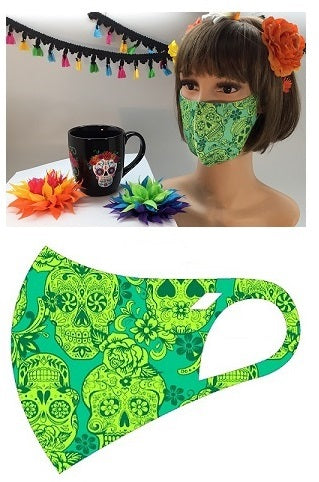 MASK-SM1055 GREEN-10PCS($2.50ea)