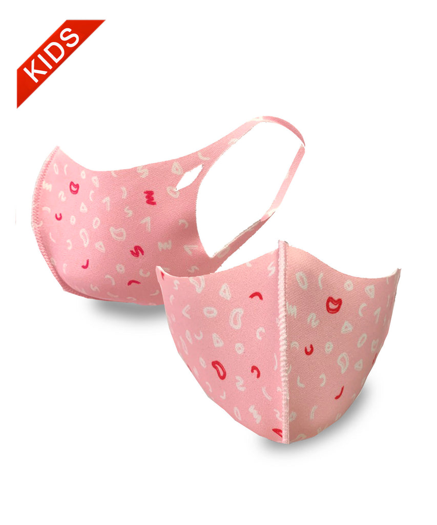 KID'S MASK - SMK1001PINK-10 PCS ($2.50ea)