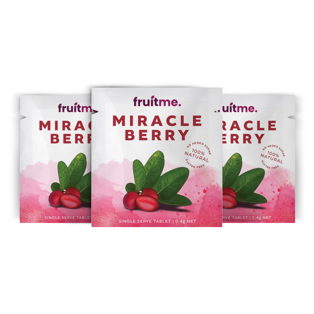 Miracle Berries Single Serve x3