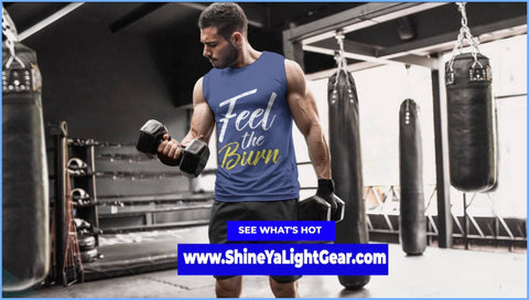 Image of GO BEYOND YOUR LIMITS WITH THIS SHIRT - Shine Ya Light Gear