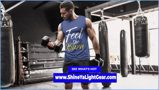 GO BEYOND YOUR LIMITS WITH THIS SHIRT - Shine Ya Light Gear