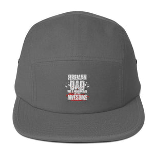 Fireman Awesome Dad Five Panel Cap - Shine Ya Light Gear