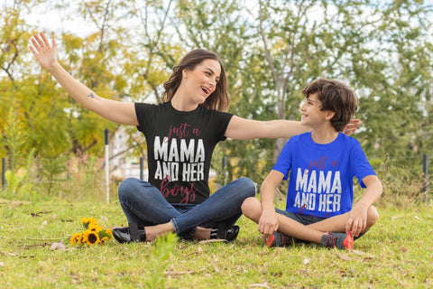 Just A Mama And Her Boys - Shine Ya Light Gear